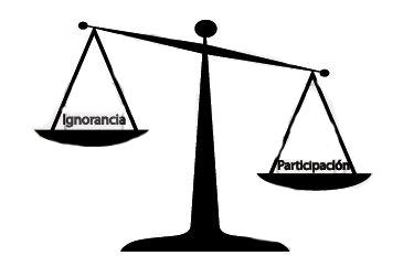 balanza ignorancia